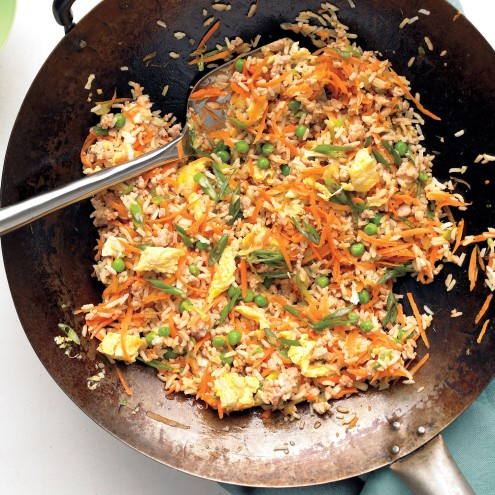 fried rice- martha stewart