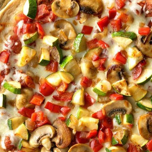pizza- taste of home